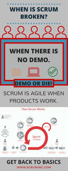Scrum is broken when there is no demo.