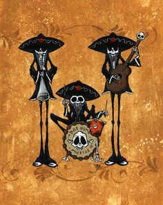 Dos Hombres Band by David Lozeau