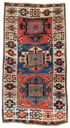 Kurdish rug, east Anatolia, first half 19th century.