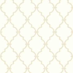 Showcasing a bold trellis motif, this pre-pasted wallpaper brings a stylish touch to any room. Make a chic statement on an accent wall, or let it add a patte...
