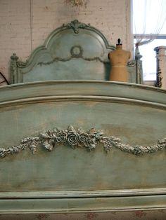 Romantic French Aqua Bed!<3