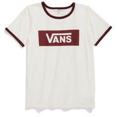6f6dfbc78f3579 Women s Vans  Ringer Plus  Crewneck Tee. Skate T ShirtsCheer ...