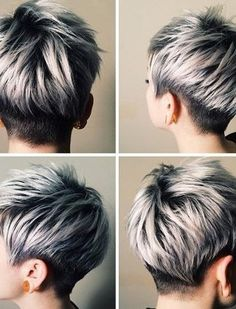 Blonde, Red, Brown, Ombre-ed and Highlighted Pixie Cuts for Any Taste
