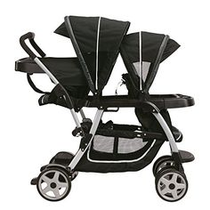Graco Ready2Grow Click Connect Lx Stroller 2015 - different riding options for 2 children from infant to youth.