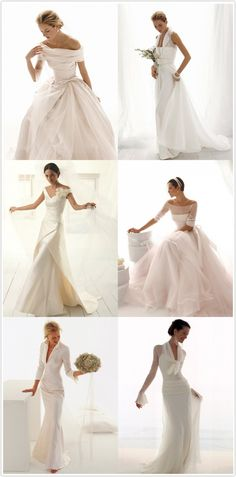 italian wedding gown designers | Italian Wedding Dress Designers...... Funny how each of these could match each of my girls. pretty