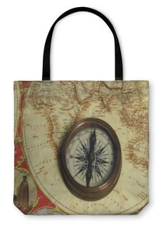 Tote Bag, Compass African Attire For Men, African Men, Hippie Wallpaper, Never Fade, Map Canvas, Tribal Patterns, Watercolor Pattern, Custom Art, Compass