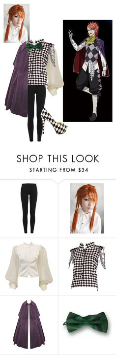 """""""Book of Circus: Joker"""" by undertaker-senpai ❤ liked on Polyvore featuring Polo Ralph Lauren, Valentino, Chanel, Four Stroke and TaylorSays"""