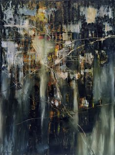 Contemporary abstract paintings by artist Jeane Myers Wax Art, Collage Art Mixed Media, Art Studies, Art Tutorials, Art Photography, Abstract Art, Artist, Night Swimming, Master Art