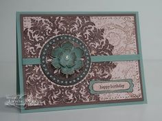 Medallion Stampin Up card