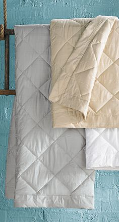 When an extra layer of warmth is needed, treat yourself to our Down Blanket.