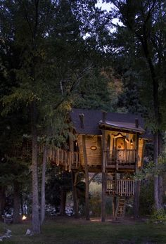 Tree House, Carbondale, Colorado photo via liz