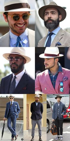 4d1369aa8fb Mens Hats   Headwear Lookbook love the hats but its the style ... the style  man. (   ) awesome