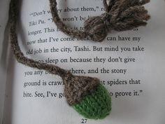 Knit bookmark