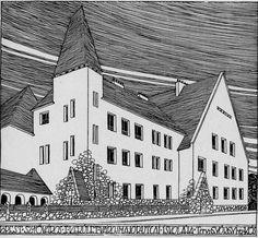 az iskola látványterve Budapest, Kos, Louvre, Images, Building, Travel, Cards, Voyage, Buildings