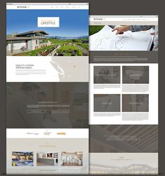 Ritchie Custom Homes Website