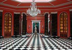 Entrance Hall of Mount Stewart House