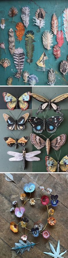 Flora and Fauna Paper Constructions by Ann Wood and Dean Lucker