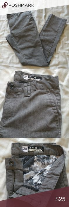 Empyre Chino Grey Pant Size 30 grey pants from Empyre, worn, but still in great condition.  Check out the rest of my closet to bundle! Lots of smaller items to add on to get the bundle discount too. Empyre Pants Chinos & Khakis