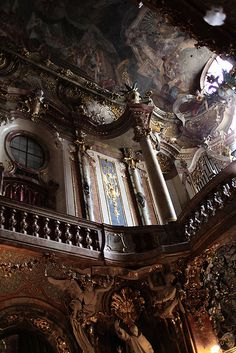 asamkirche in Munich, Germany - Baroque/Rococo (Photo by jewel_king, via Flickr