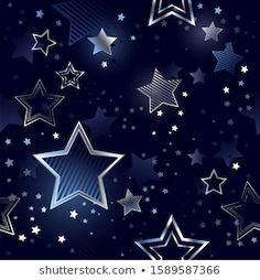 Star Wallpaper, Wallpaper Backgrounds, Seamless Background, Silver Stars, Stars And Moon, Cover Photos, Overlays, Banner, Gifs