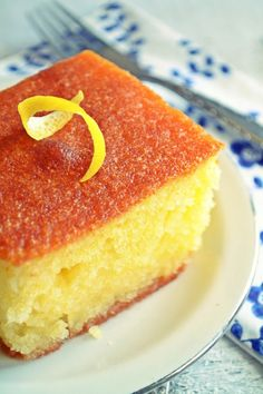 Ρεβανί Βεροίας Greek Sweets, Greek Desserts, Cookie Desserts, Greek Recipes, Just Desserts, Sweets Cake, Cupcake Cakes, Cupcakes, Greek Cake