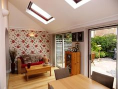 3 bedroom semi-detached house for sale in Harvest Close, Yateley, Hampshire, - Rightmove. Kitchen Extension Velux, Brick Extension, Extension Ideas, Architectural Technologist, Modern Patio Doors, Conservatory Kitchen, 1960s House, Shaker Style Kitchens, Cottage Renovation