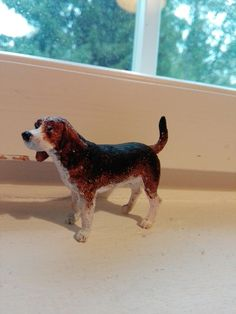 Painted beagle
