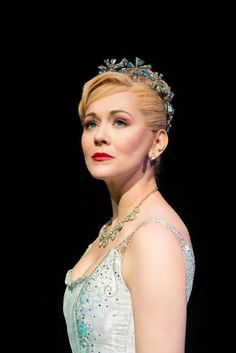 Savannah Stevenson (Glinda). WICKED 2015/2016 London company at the Apollo Victoria Theatre. Photo by Matt Crockett: www.LOVEtheatre.com/tickets/1085/Wicked?sid=PIN