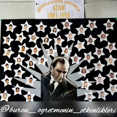 @svncates ❤💞 🇹🇷🇹🇷🇹🇷 #Atatürk #mustafakemalatatürk #anıtkabir #atatürksevgisi #10kasım #Burcuöğretmeninetkinlikleri School Teacher, Pre School, Montessori, Preschool Rooms, Classroom Bulletin Boards, Kids And Parenting, Crafts For Kids, Pure Products, Activities