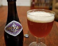 """Orval"" is a Trappist ale, in the same vein as a Chimay"