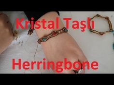 Herringbone Bracelet Tutorial Wave - Herringbone Bileklik Yapımı (Dalgalı Bileklik) - YouTube