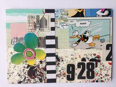 Postkarte Nr. 3 by Kefro for the DIY Postcard Swap Fall 2015 #diypostcard