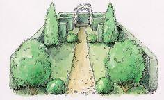 Gartengestaltung mit Bäumen und Sträuchern: Die Tricks der Profis