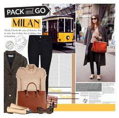 """""""Pack and Go: Milan"""" by bklana ❤ liked on Polyvore featuring Maxima, Armani Jeans, Bobbi Brown Cosmetics, IRO, Yves Saint Laurent, NARS Cosmetics, Le Specs, women's clothing, women and female"""