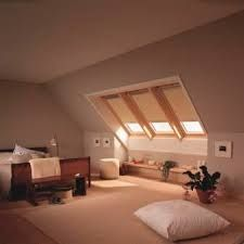 Image result for velux blinds Blinds, Ceiling Lights, Bed, Interior, Furniture, Home Decor, Image, Window Blinds, Curtains