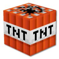 Shop for on Etsy, the place to express your creativity through the buying and selling of handmade and vintage goods. Tnt Minecraft, Minecraft Blocks, Minecraft Skins, Wall Sticker, Wall Decals, Mindcraft Party, Graffiti Doodles, Minecraft Bedroom, Party Printables
