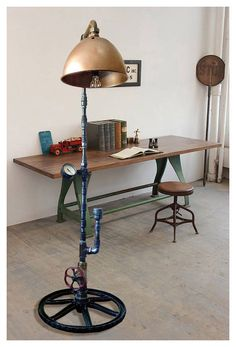 Items similar to Camshaft lamp passover gift Steampunk fashion lamp Steampunk industrial art Industrial lampe Rustic lights Pipe lamps vintage on Etsy Decor, Floor Lamp Styles, Steampunk Lamp, Industrial Flooring, Lamp, Industrial Floor Lamps, Home Decor, Industrial Floor Lamp Vintage, Flooring