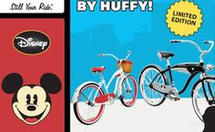 Disney Contests and Sweepstakes: Huffy Limited Edition Mickey & Minnie Cruiser Giveaway (090613) on disneybloggers.blogspot.com