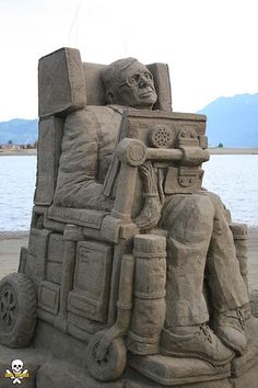 """Bronze Medal World Championship sand sculpture """"the Beginning and the End"""" by Baldrick Buckle. Real nice!!"""