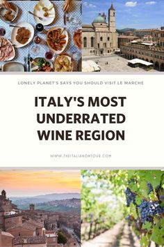 The top region to visit in Italy in 2020 according to the Lonely Planet is Italy's most underrated wine region. A wine region where you can find bottle over 90 points for less than 15 dollars Amazing Destinations, Travel Destinations, Italy Travel Tips, Regions Of Italy, Culture Travel, Lonely Planet, Solo Travel, Luxury Travel, Cool Places To Visit