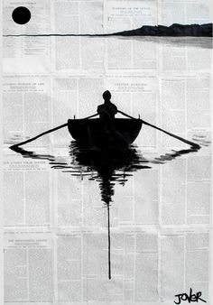 a simple plan, a Pen and Ink Drawing on Paper, by LOUI JOVER from Australia, Sold out, Price is $450, Size is 36.6 x 23.6 x 0 in.