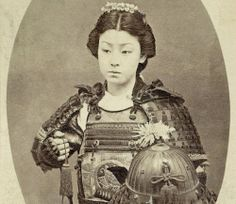 "10 Female Samurai While strictly a masculine term, the Japanese bushi class did have women who received similar Samurai training. These were called ""Onna-Bugeisha,"" and were known to participate in combat with their male Samurai. Weapon of choice was usually the naginata, a spear with a curved, sword-like blade that was versatile, & relatively light. Battle site Senbon Matsubaru remains were DNA tested & 35 of 105 bodies were female."