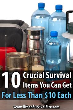 Although prepping can get expensive, it doesn't cost much to get started. Most of the essential survival items can be gotten for less than ten bucks a pop.