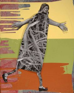 Girl running, 2013, by Holly Roberts