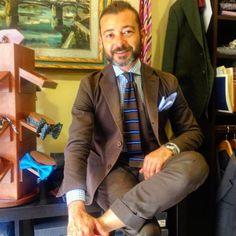 @ottomarchesi #florence #italianstyle #style #tie #sprezzatura #shop #menswear #menstyle