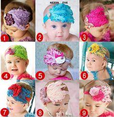 Baby DIY headbands