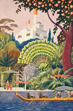 Rudolf Koivu was a Finnish illustrator and painter, best known for illustrating books of fairy tales for children. Art Nouveau Illustration, Children's Book Illustration, Tales For Children, Fairy Tail Pictures, Make Pictures, Arabian Nights, Black And White Pictures, Grimm, Travel Posters