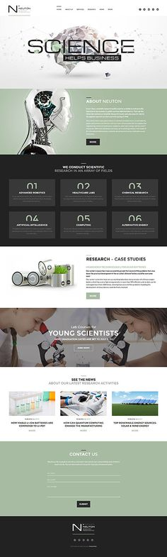 Science Consulting Business #Wordpress #template. #themes #business #responsive #Wordpressthemes