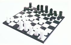 Yves Tanguy: Chess Set and Tabletop Board (before1939)