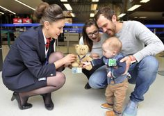 Airline goes that extra mile to reunite teddy bear with his owner